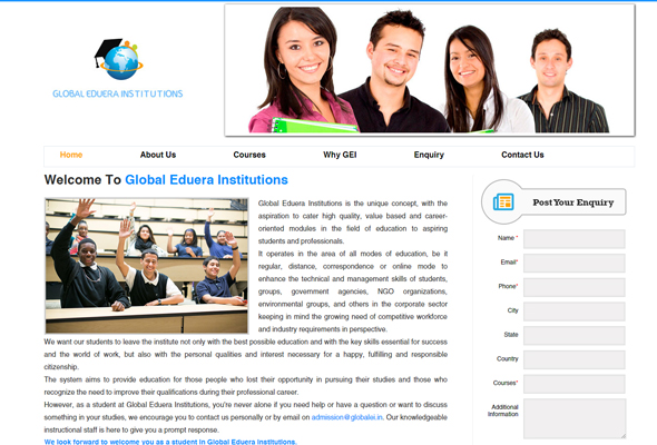 Global Eduera Institutions